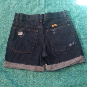 VTG Rustler Jean Cutoff Shorts